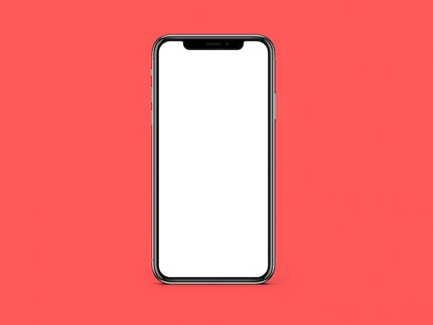 Телефон пустой белый экран