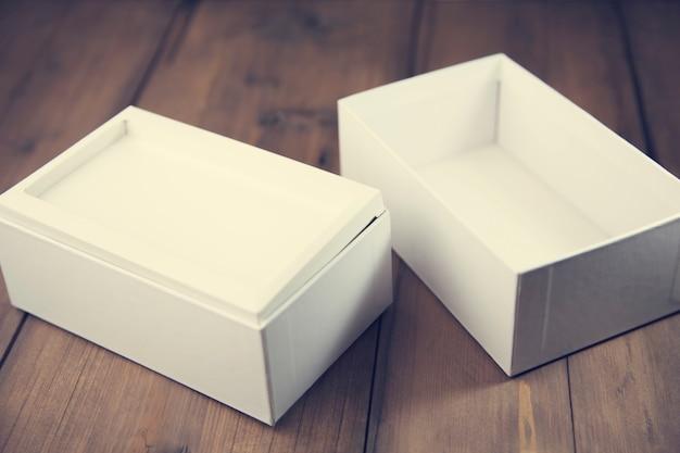 Phone box on table