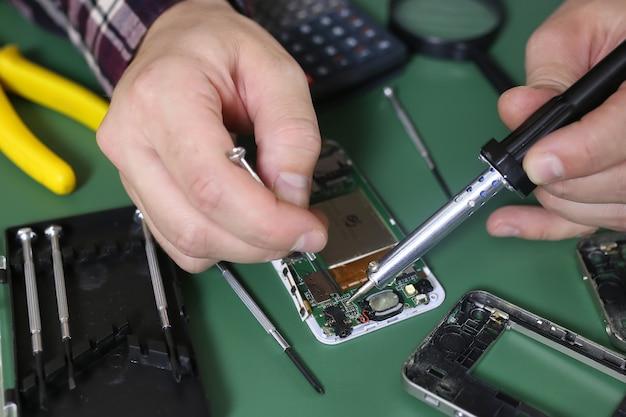 Phone repair chip