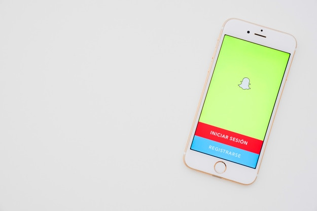 Phone with snapchat