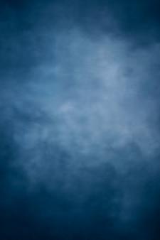 초상화, 파란색 페인트 질감 사진 배경