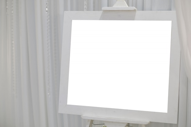Photo frame, blank frame for text