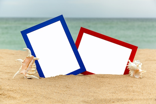 Фоторамка на пляже фотография на пляже море ракушки пляж отдых пляж галька