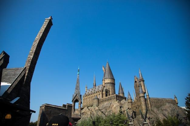 Photo of hogwarts castle.