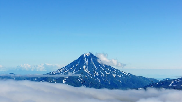 Photo of kamchatka volcanoes