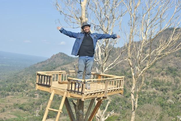 Photo on the mountain