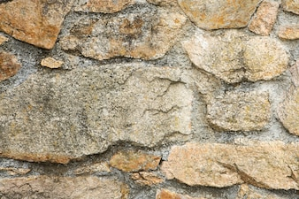 Photo of a plain stone wall for background