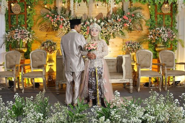 Фото индонезийской свадебной церемонии