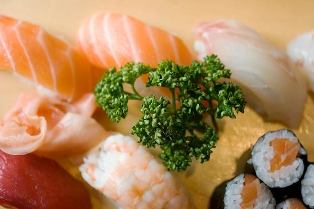 寿司の写真美味しい日本食