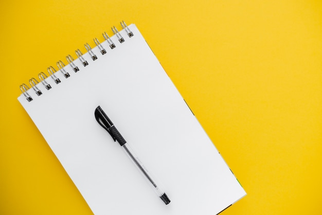 Photo of pencil and notepad