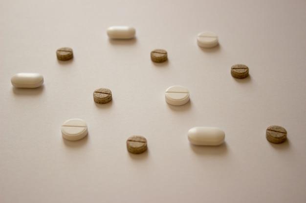 写真ピルビタミンウイルス治療covid医薬品
