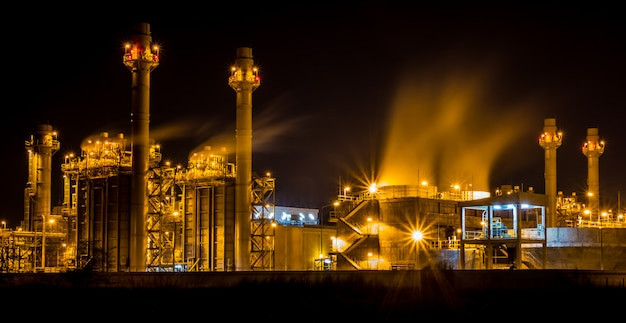 A photo of power plant industrial