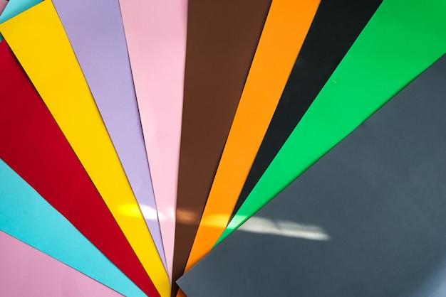Фотосъемка разноцветного фона