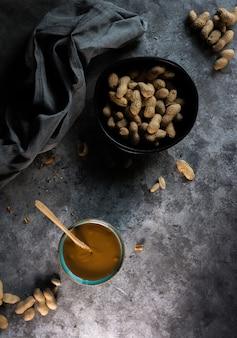 Photograph of homemade peanut butter