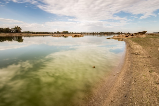 Photographed at salor reservoir. caceres. extremadura spain.