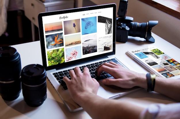 Фотограф онлайн портфолио