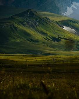 Фотография горы оштен. драматический вид