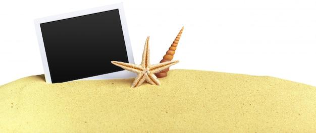 Photos on sand