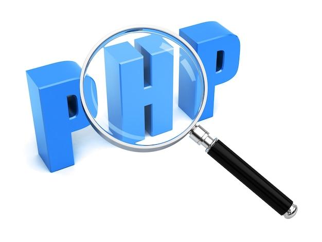 Php search web development