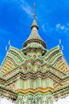 タイ、バンコクのワットポー仏教寺院群のプラモンドブ