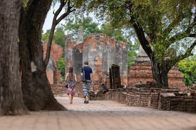 Phra sri sanphet temple in phra nakhon si ayutthaya province, thailand