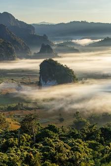 Phu langka national park in phayao province