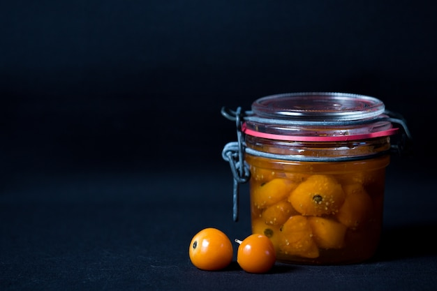 Physalis preserved