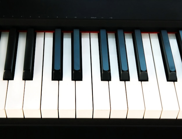 Piano key background