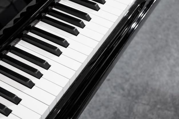 피아노 건반 배경 악기