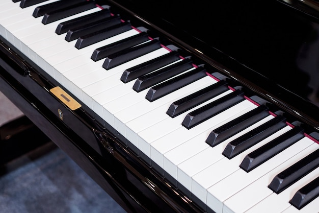 Piano keyboard background musical instrument