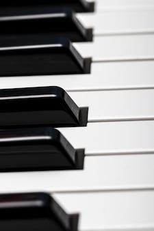 Клавиши пианино. классная иллюстрация для креативного дизайна.