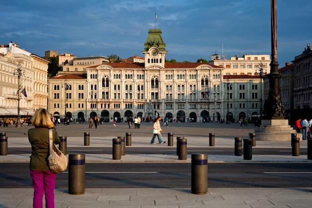 Piazza unità d'italia, триест