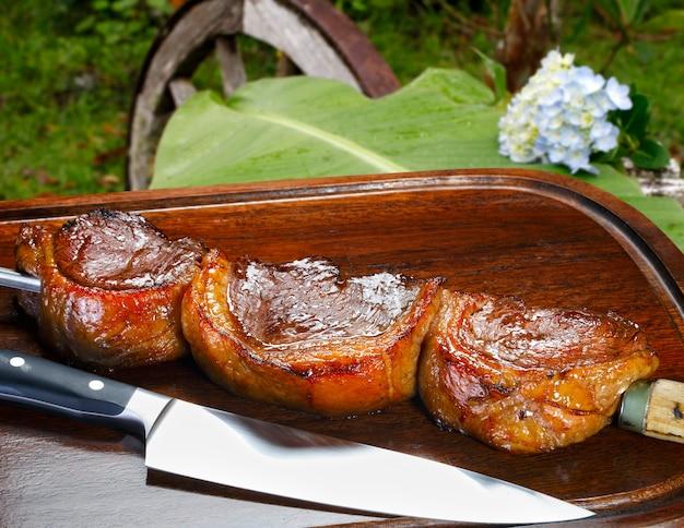 Picanha, традиционное бразильское барбекю.