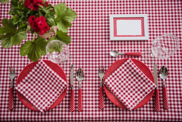 Picnic set. cutlery, tablecloth, basket, spoons, forks, knives, glasses, napkins. romantic date. family weekend. yellow cell. perfect family. flowerpot. a frame for text or photo. covers for bottles.