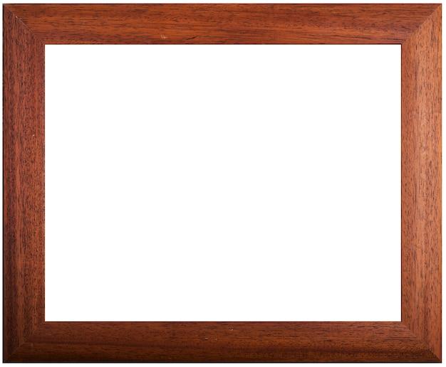 Рамка рисунка и белый фон