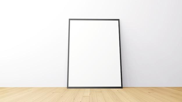 Рамка для картины в комнате