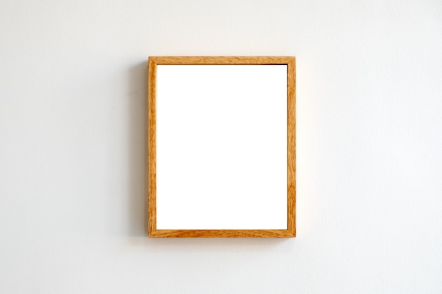 A picture frame on the wall