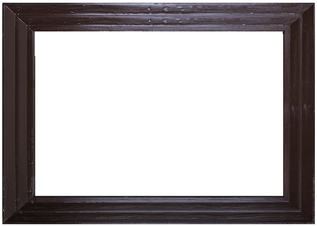 Picture frame and white background