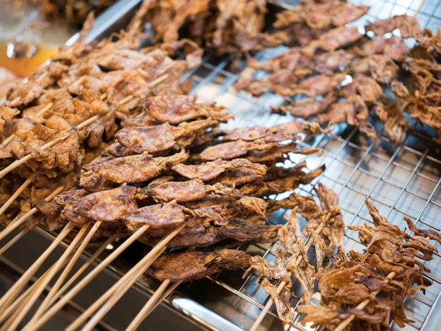 Picture of fresh meat barbecue