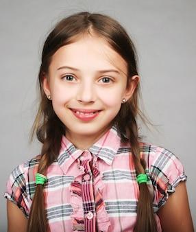 面白い女の子の写真
