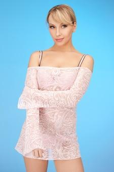 Картина сексуальная женщина в прозрачном платье