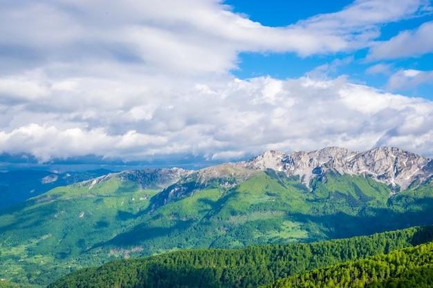 コモビの山の美しい風景。