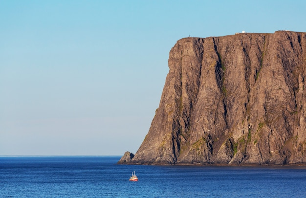 Живописные пейзажи северной норвегии