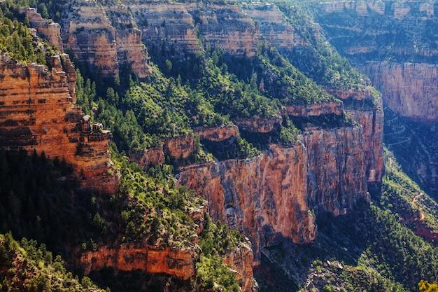 Живописные пейзажи гранд-каньона, аризона, сша
