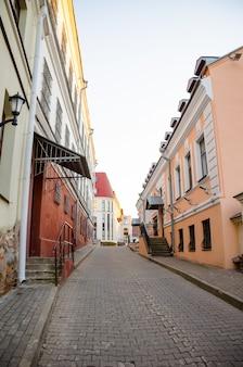 ミンスクの美しい旧市街