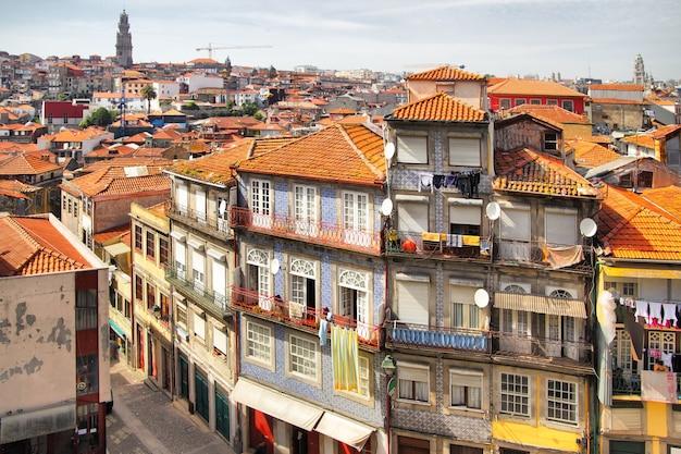Живописный панорамный вид на порту, португалия