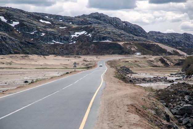 Picturesque roads of the kola peninsula