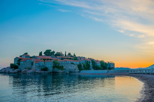 Picturesque small island on the adriatic sea.