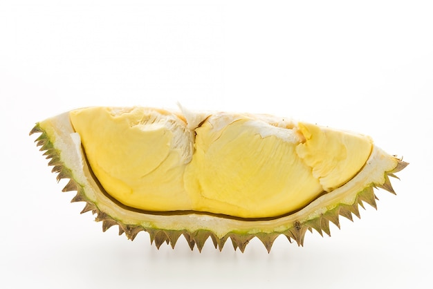 Piece of durian fruit