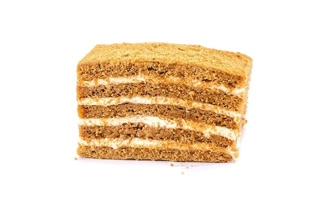 白い表面のケーキ
